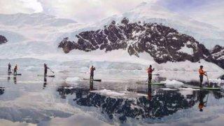 antarctique paddle