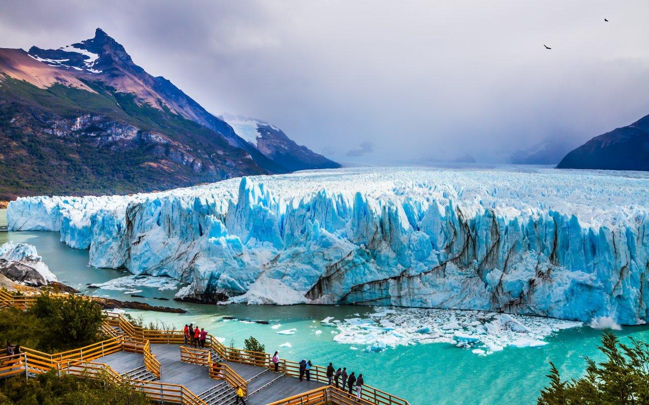glacier perito moreno - fjords et glaciers de patagonie