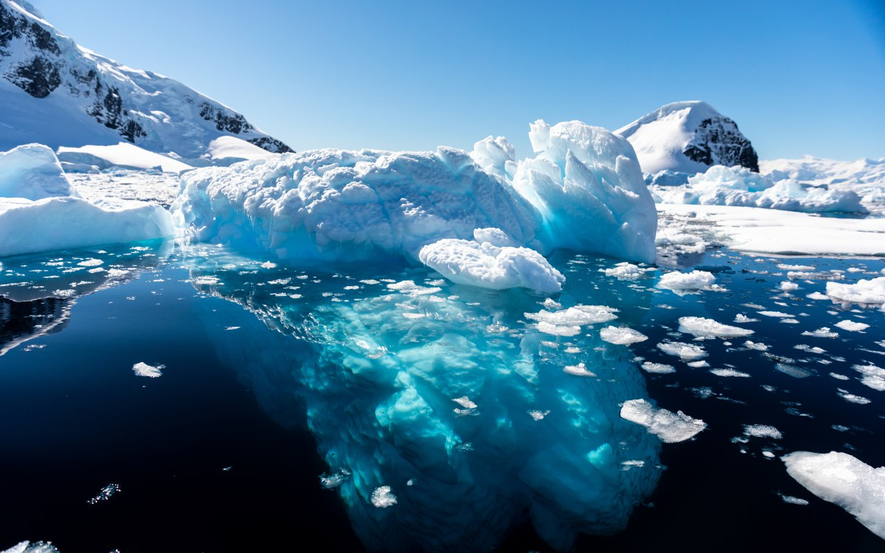 réchauffement climatique antarctique