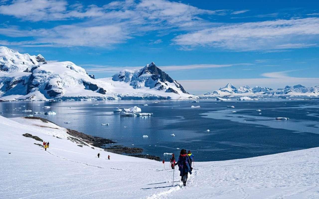 vol et croisière au cercle polaire - histoire antarctique - avion - terra antarctica