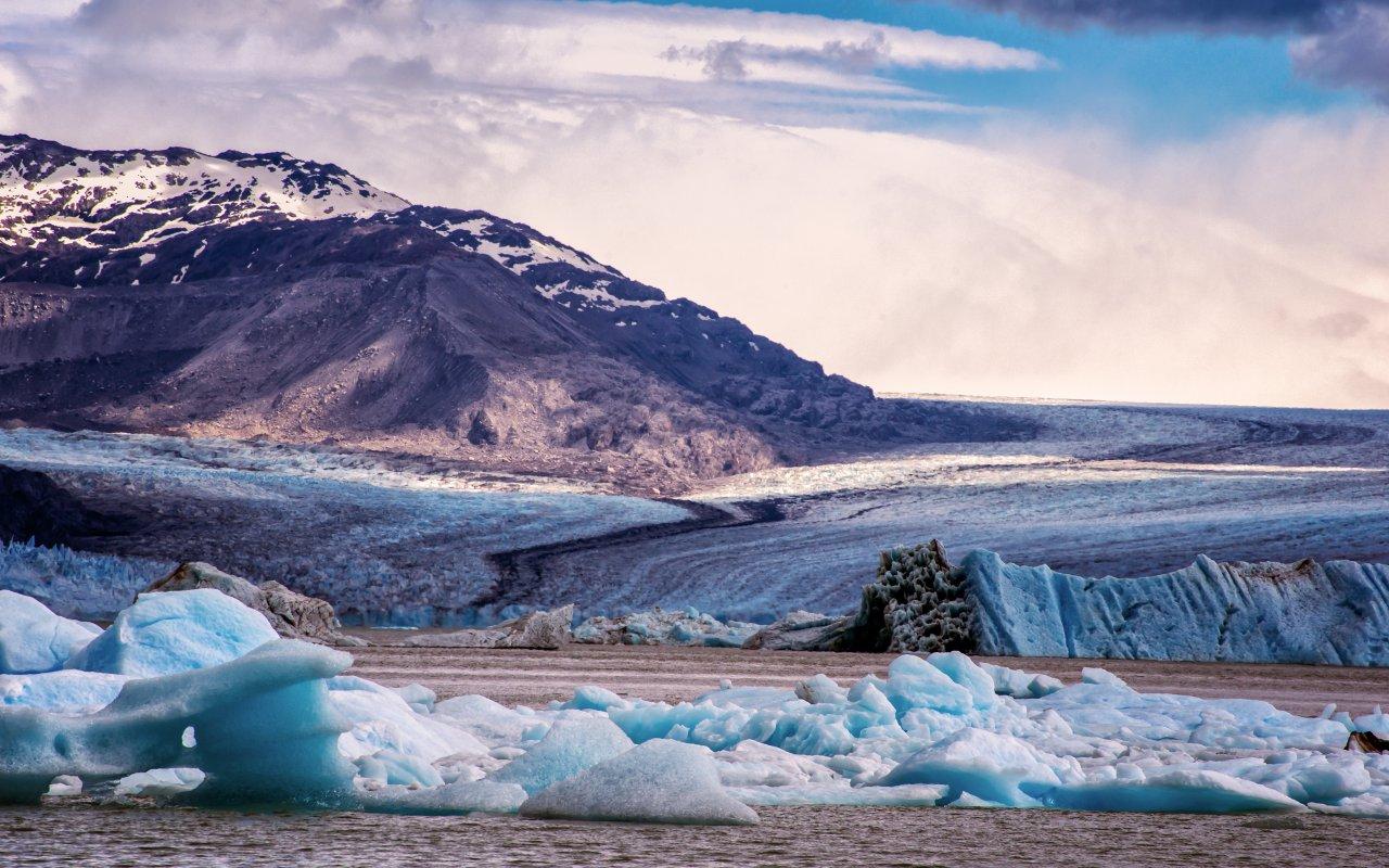 campo hielo patagonico sur
