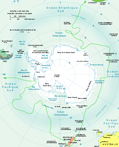 james cook deuxième voyage - terra antarctica