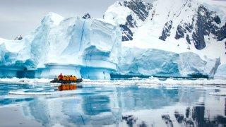 Une expédition vers le sud de l'Antarctique