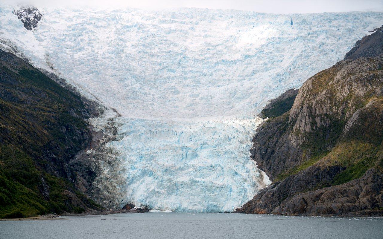 glacier italia canal beagle - croisières australes et antarctique