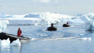 voyage antarctique mer de weddell et barrière de larsen