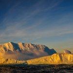 Coucher de soleil - Mer de Weddell - paiement de votre voyage en antarctique