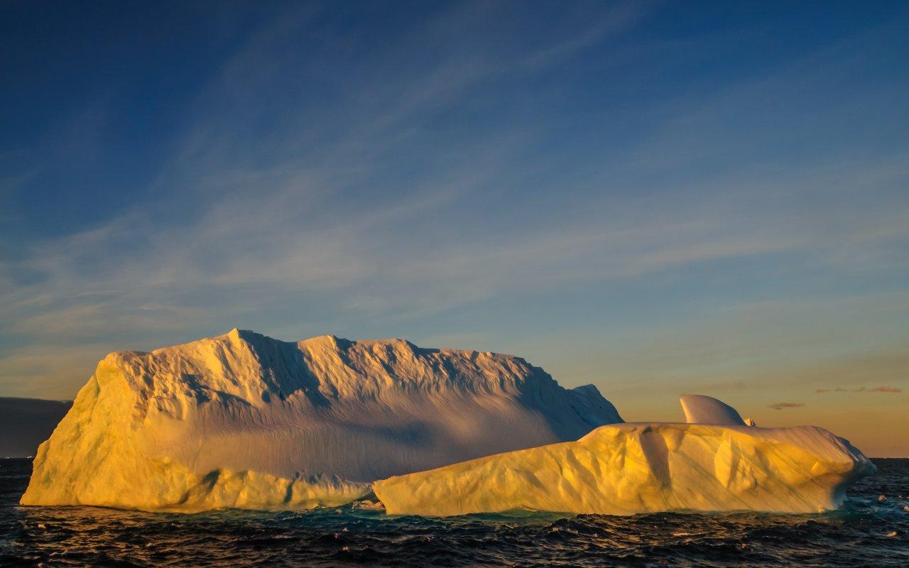 mer de weddell - antarctique