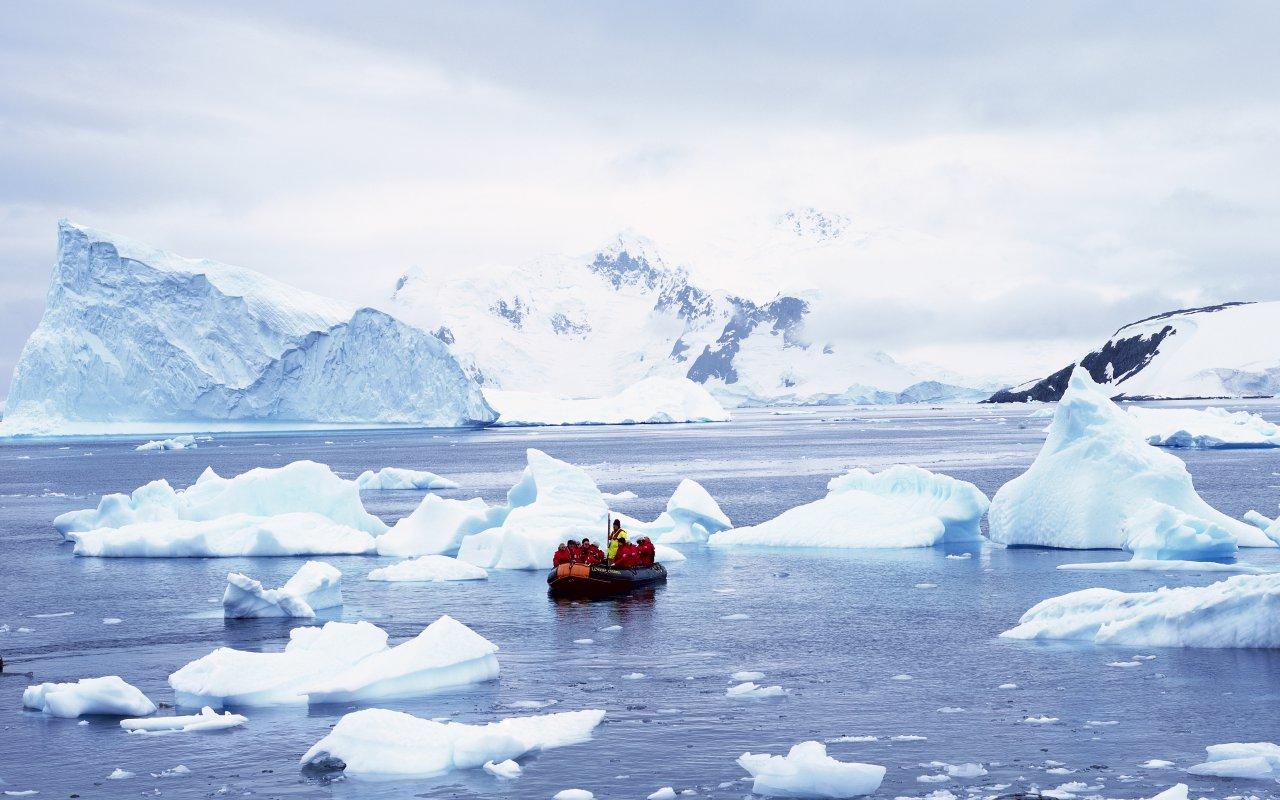 océan austral - paradise harbour antarctique