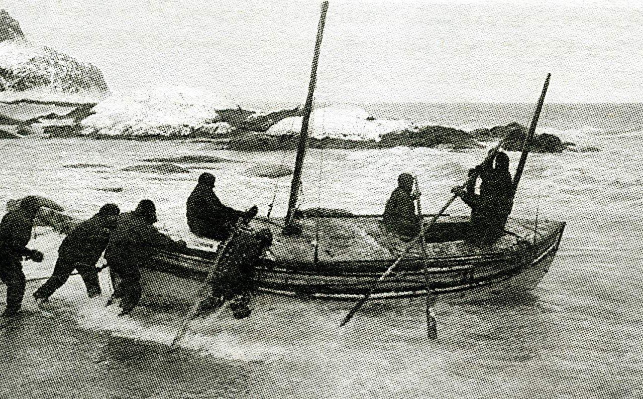 Expédition antarctique 1916 Ernest Shackleton