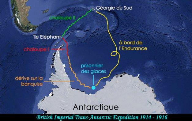 l'incroyable épopée de Shackleton - expédition antarctique - terra antarctica