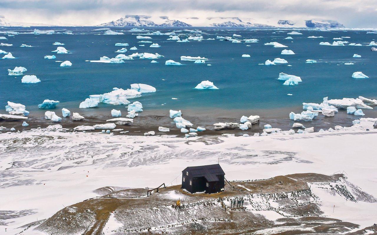 Snow Hill, Antarctique