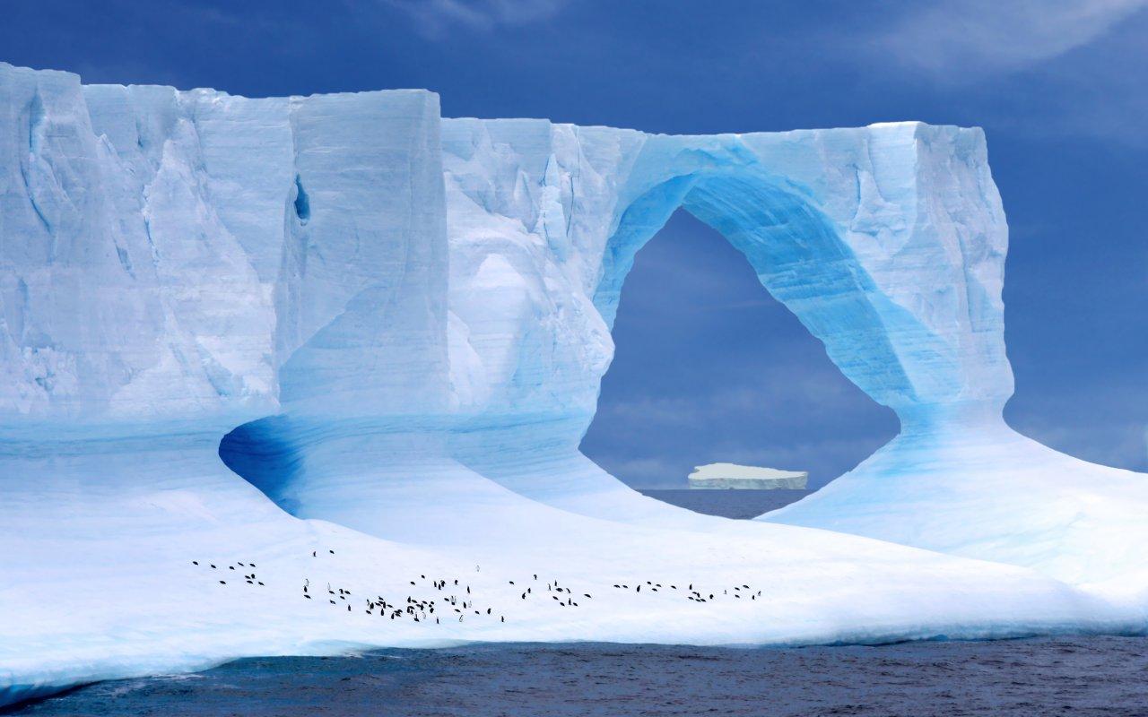 iceberg antarctique voyage